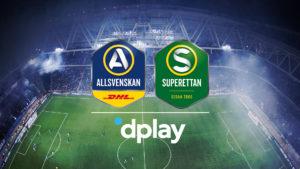 offentlig visning av Allsvenskan och Superettan på dplay