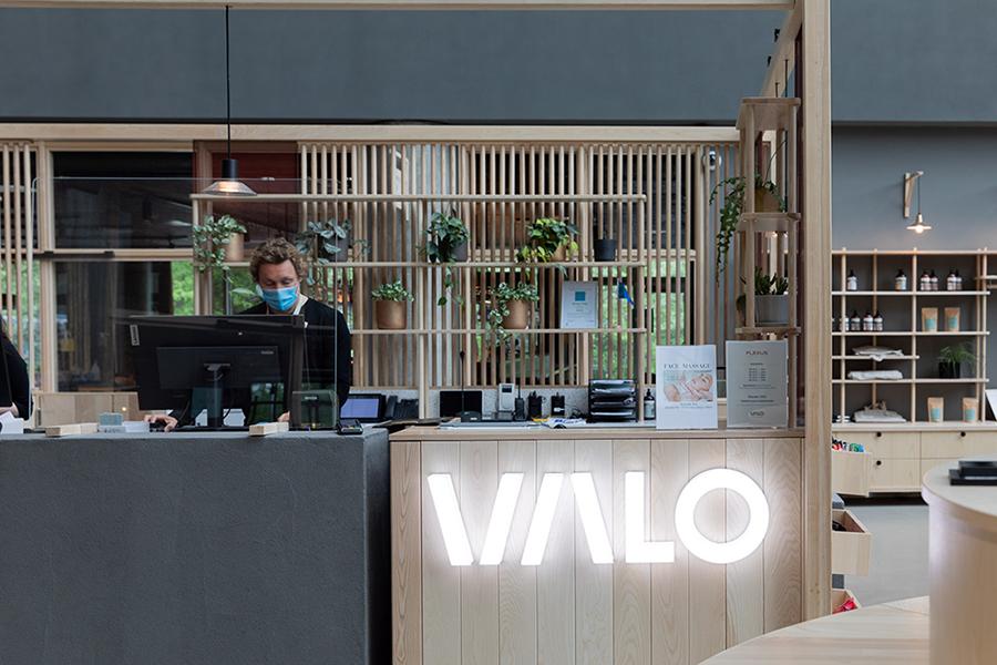 Valo Hotel lobby